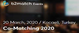 Co-Matching 2020 will be organised on 19th-20th March 2020 in Kocaeli